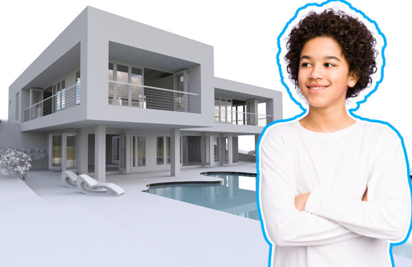 learning the 3D Architectural Visualisations course for kids online